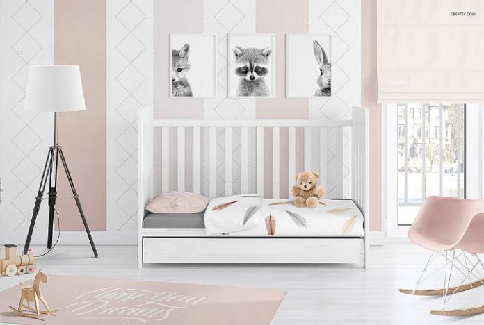 20  photorealistic psd room mockup templates