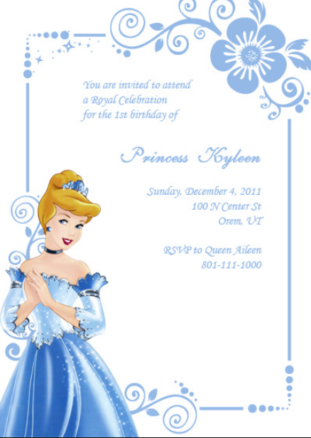 cinderella_birthday_invitation_template