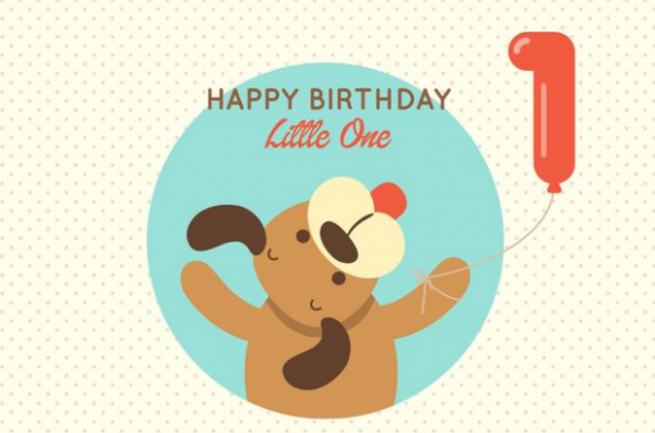 free_puppy_1st_birthday_greeting_card