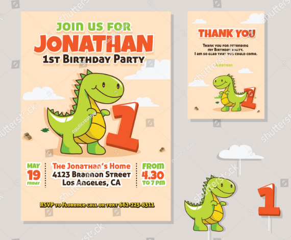 cute_dinosaur_1st_birthday_party_invitation_thank_you_card