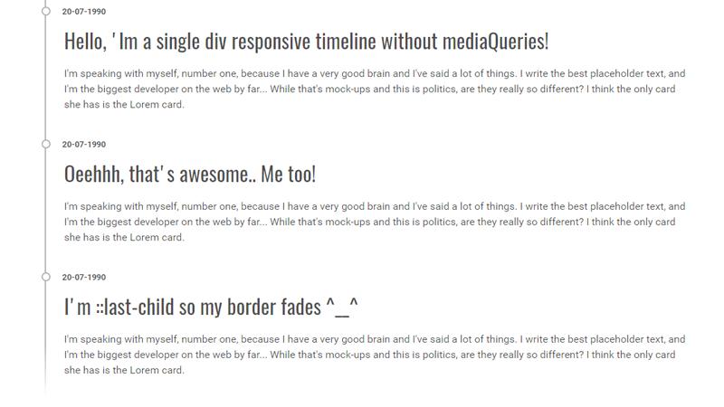 single_div_timeline