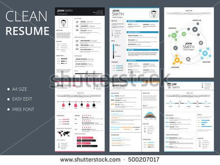 pack_of_six_resume_and_cv_vector_template_job_applications