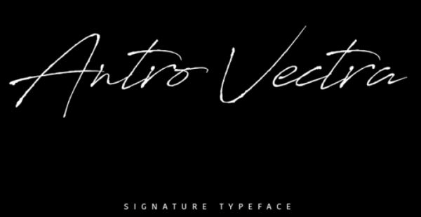 antro_vectra_font