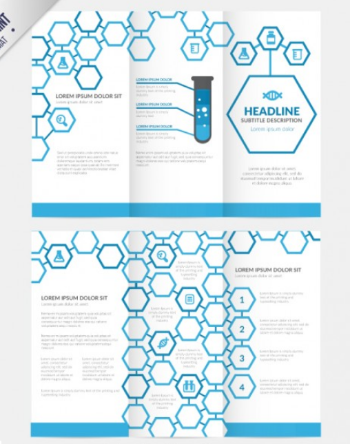 hexagons_trifold_template