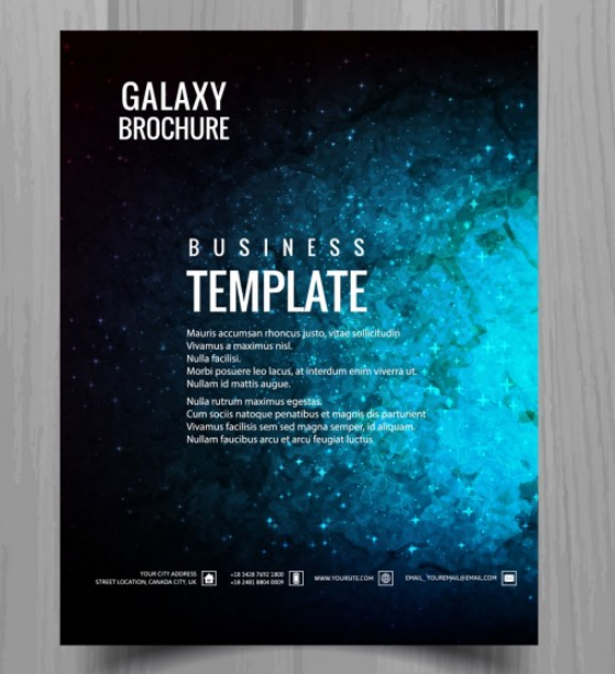 nice_brochure_poster_about_galaxy