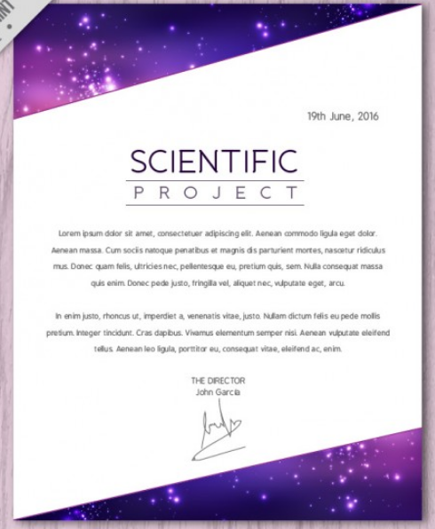 scientific_letterhead_poster_with_stars