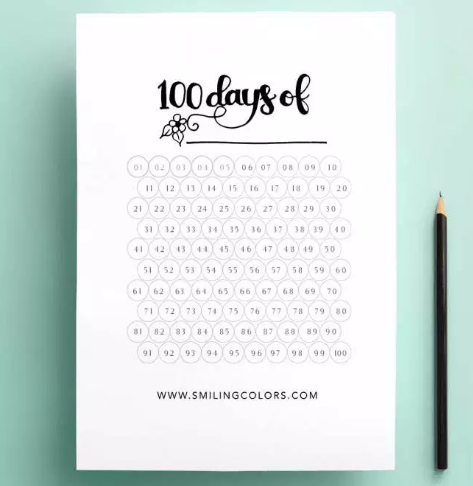 graphic relating to Bullet Journal Habit Tracker Printable identify 10+ Instructive Cost-free Pattern Tracker (Printable Templates