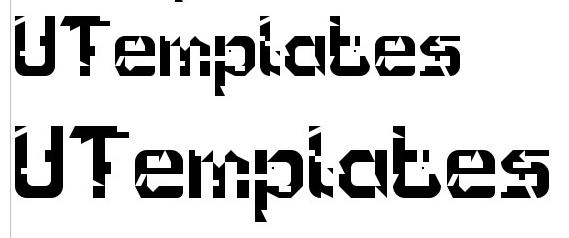 15+ Perfect & Free Glitch Fonts | UTemplates