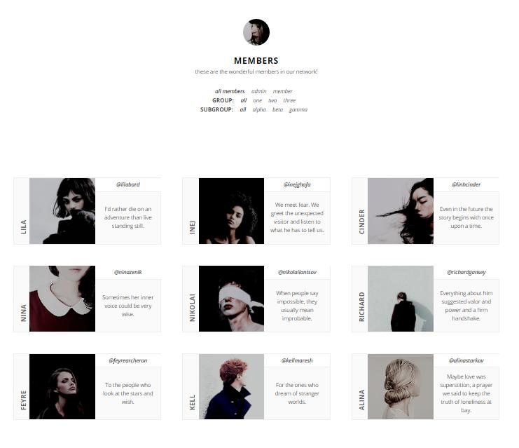 20+ Clean White Tumblr Themes | UTemplates