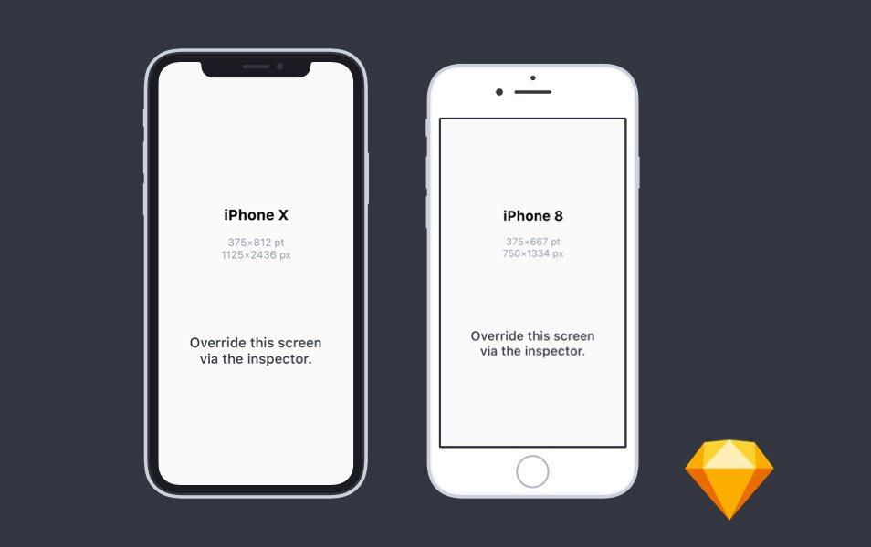 flat_iphone_x_and_iphone_8_mockups_for_sketch