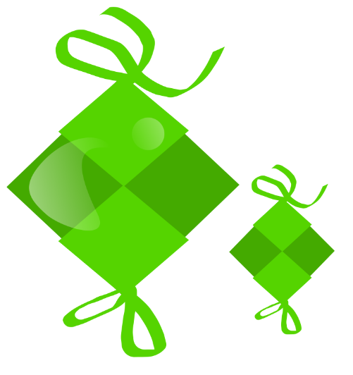green_ketupat_free_vector_clip_art