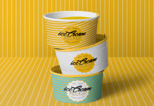 free_yummy_ice_cream_cup_mockup