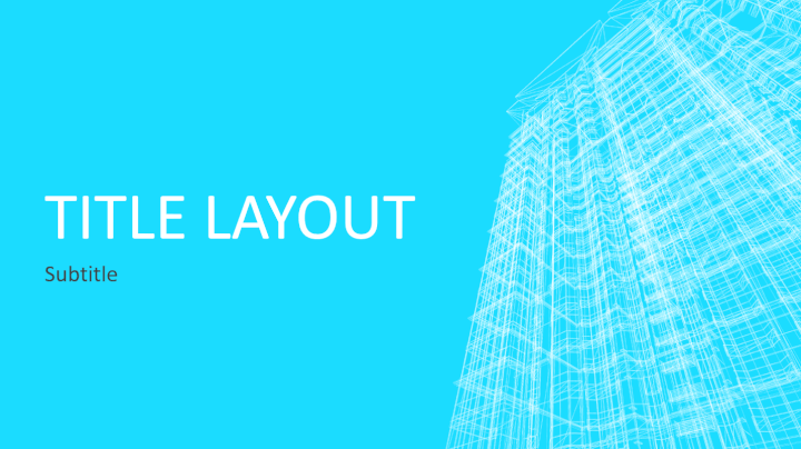 building_wireframe_powerpoint_template