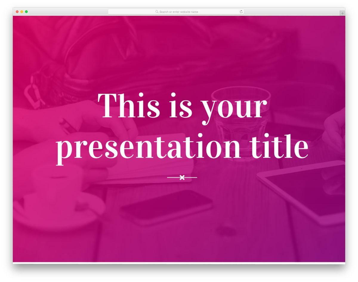 rosalind_powerpoint_template