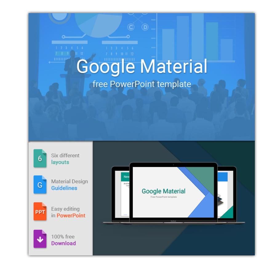 google_material _powerpoint_template