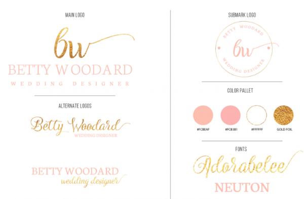 free_elegant_feminine_logo_kit