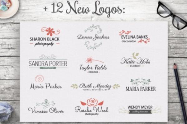 vintage_feminine_logo_templates