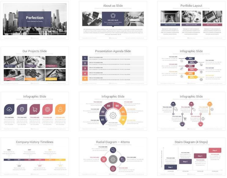 60 Free Business Powerpoint Ppt Pptx Slides Templates Utemplates
