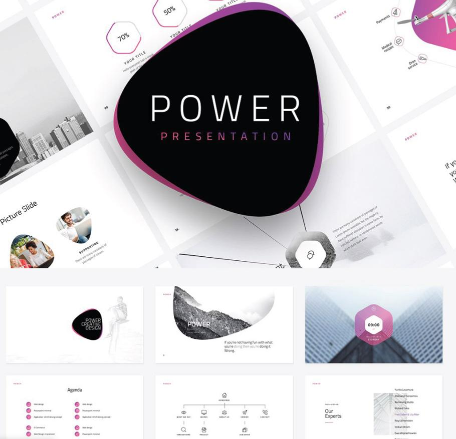 power_business_powerpoint_template