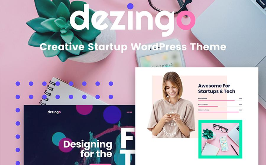 Dezingo - Creative Startup WordPress Theme