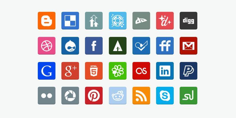 flat_social_media_icons