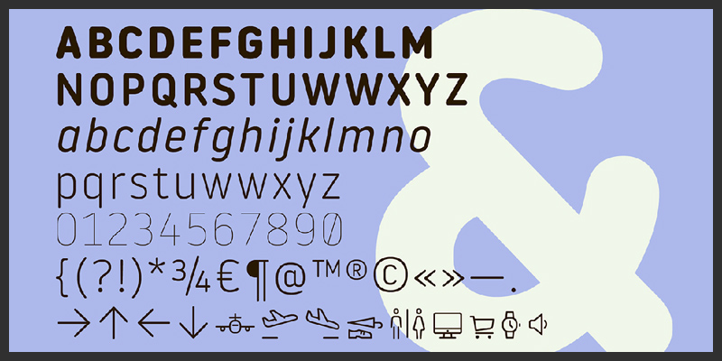 free_round_typeface_with_2_weights