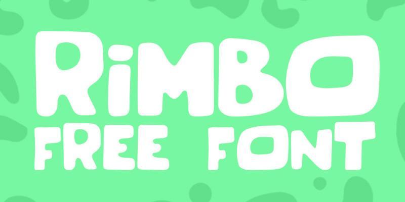 rimbo_free_rounded_handwritten_typeface