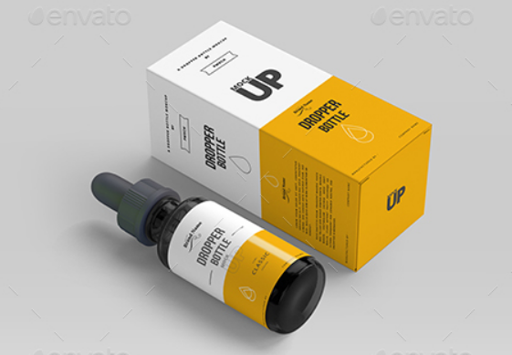 10+ Realistic Dropper Bottle Mockup in PSD | UTemplates