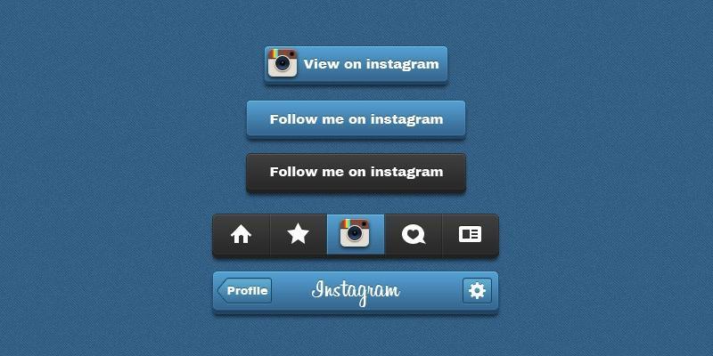 instagram_psd_button_pack