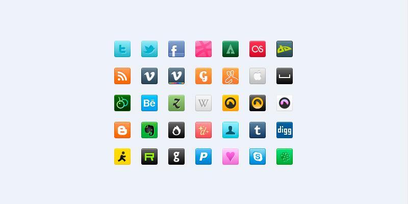 minimal_psd_social_icons