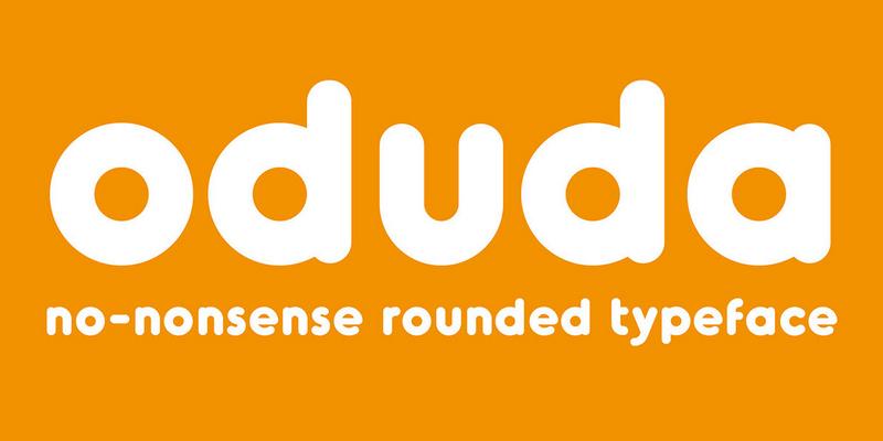 oduda_rounded_bold_typeface