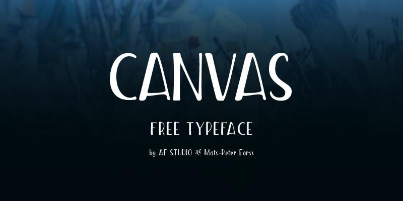 canvas_stylish_handwritten_free_font