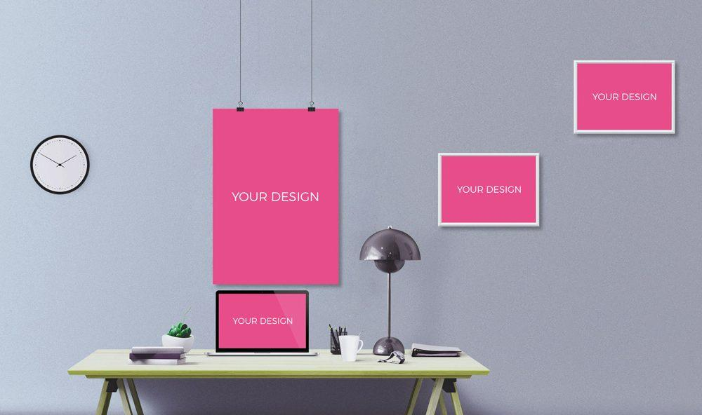 office_wall_with_photo_frames_mockup
