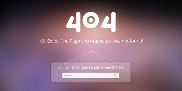 404_error_page_responsive_web_template