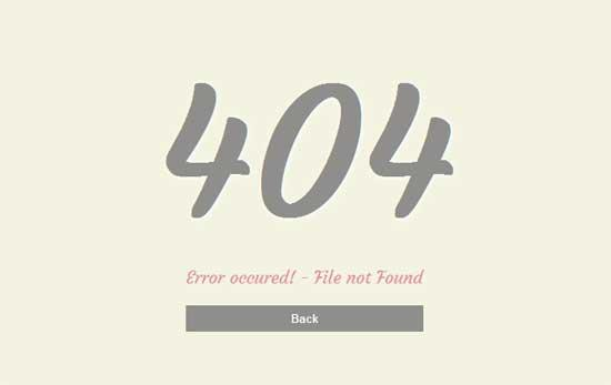 error_404_mobile_website_template