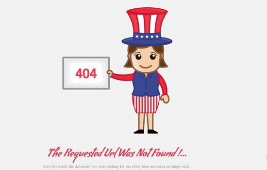 free_404_event_page_not_found_website_template