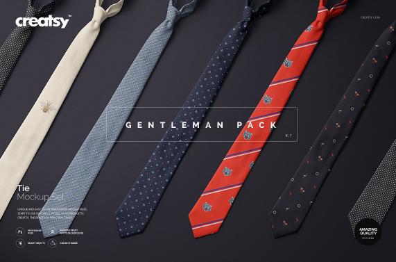 gentleman_tie_mockup_set