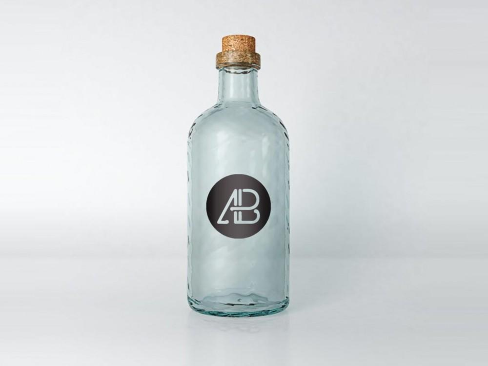 free_vintage_glass_psd_mockup