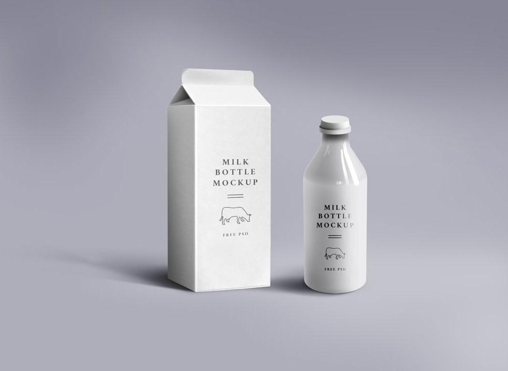 free_milk_carton_&_glass_psd_mockup