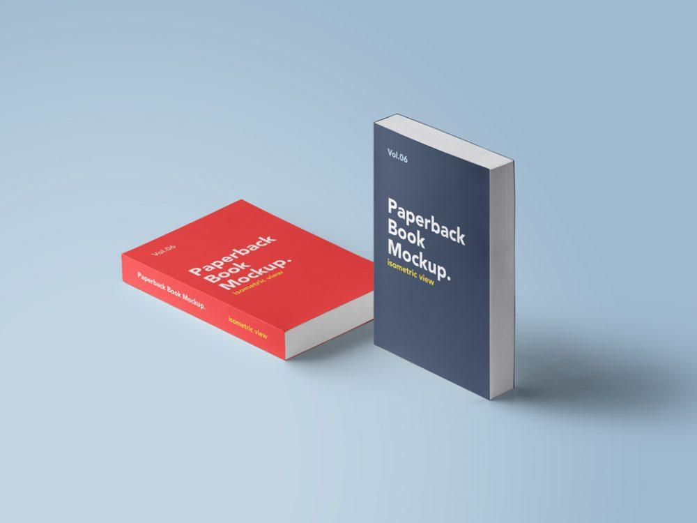 free_paperback_books_psd_mockup