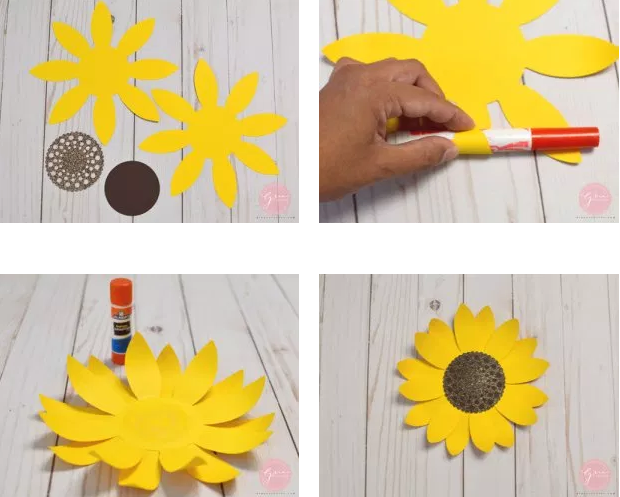 10 Diy Paper Flowers Templates Free Utemplates