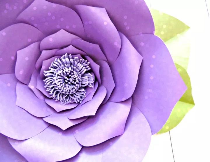 10 Diy Paper Flowers Templates Free Utemplates