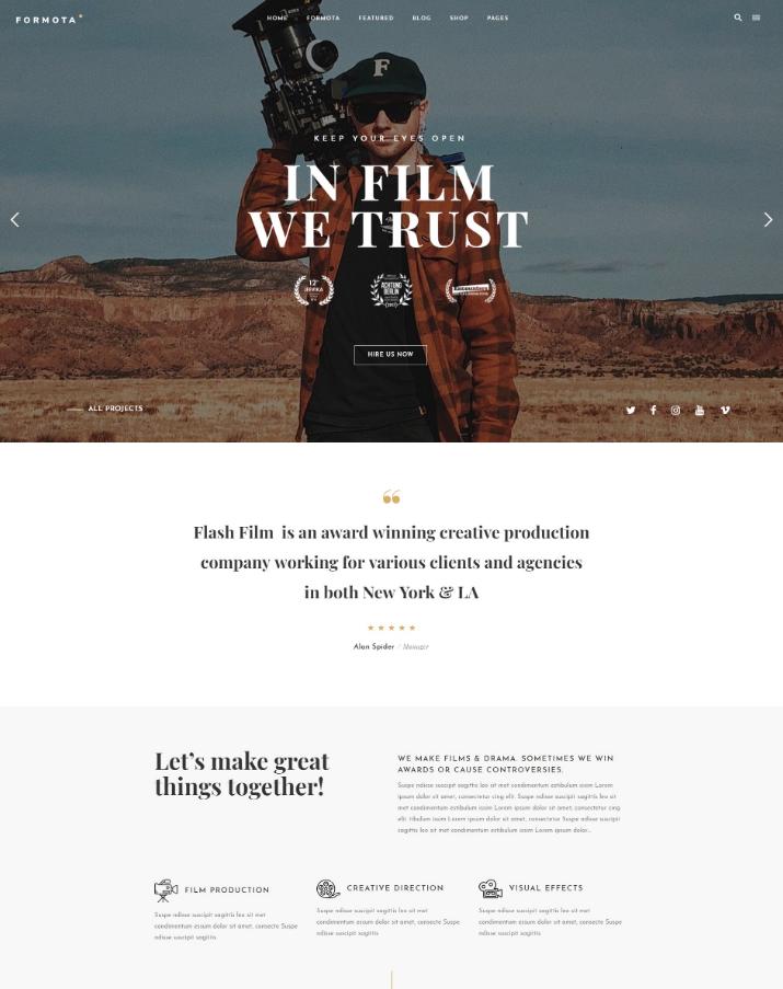 15+ Best & Free WordPress Movie Themes | UTemplates