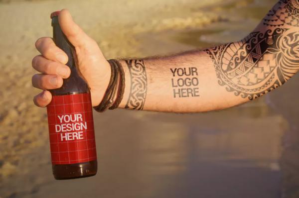 beach_beer_tattoo_style_mockup