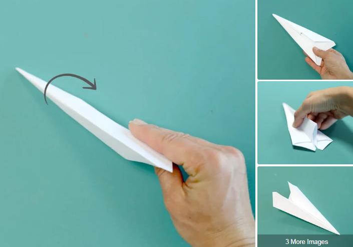 5 Best Free Printable Paper Airplane Templates Utemplates