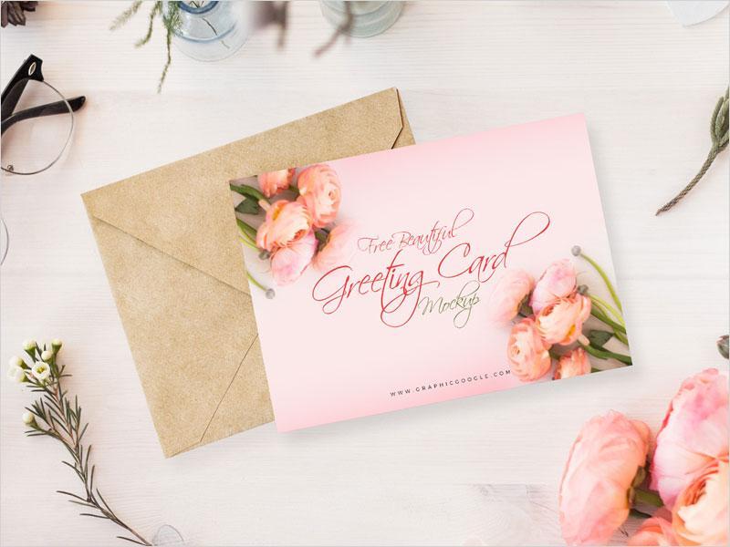 free_beautiful_greeting_card_mockup_psd