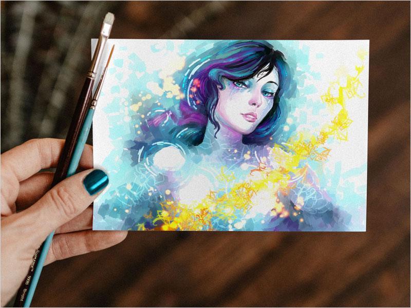 free_watercolor_painting_greeting_card_mockup_psd