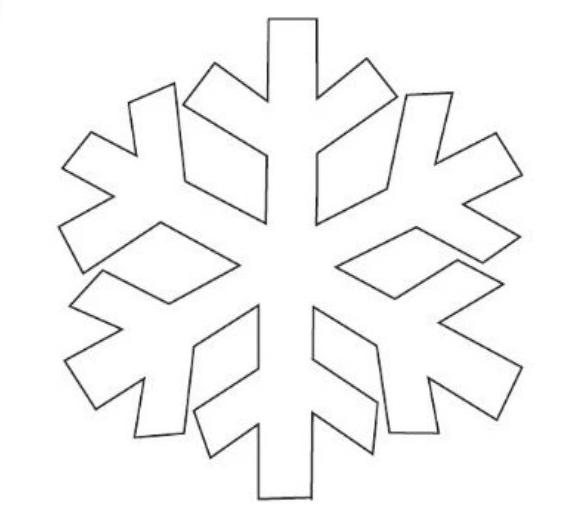 12+ Free Printable Snowflake Templates | UTemplates