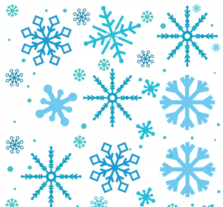 This is a photo of Sly Free Printable Snowflake Template