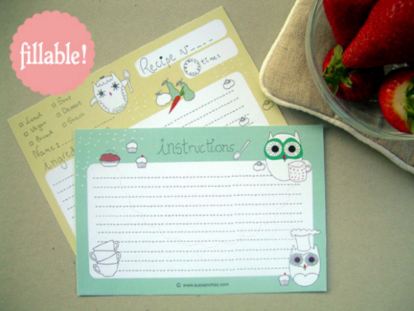 printable_and_fillable_owl_recipe_card